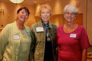 Robin Robinson, Dr. Shirley Freeman, Hazel Hans