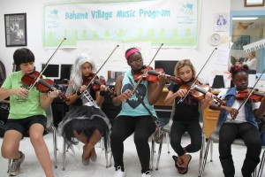 Bahama Village Music Program Suzuki Strings Class