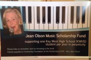 Jean Olson Sign