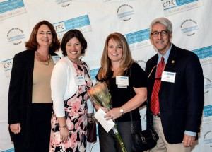 Honoree Rebecca Horan (second from right) and the United Way of the Florida Keys
