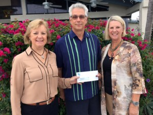 First State Bank Donation to CFFK: (left to right) First State Bank President/CEO Karen Sharp, CFFK Chairman Roger Heinen, and CFFK President/CEO Dianna Sutton