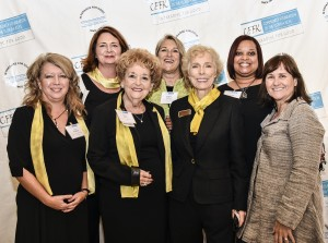 2016 Unsung Hero Molly Ersay (front row, second from left) with friends and colleagues from Zonta Club of Key West.