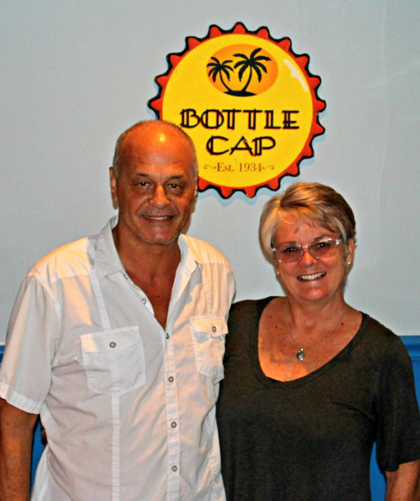 BottleCap owners Carmelo Vitale and Carolyn Sullivan