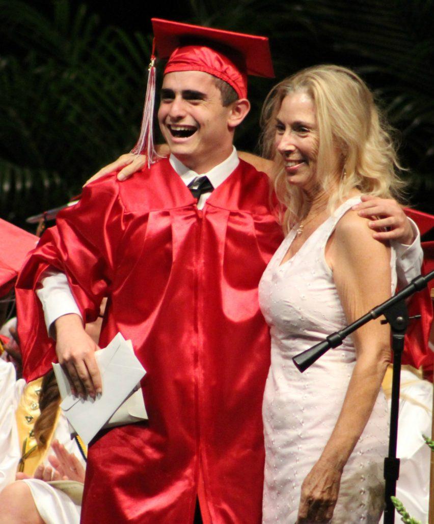 Jason Sonnenfeld and Franko Richmond Music Scholarship Fund Advisor Gail Lima