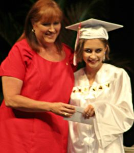 KWHS Principal Amber Acevedo and Hanna Antonides