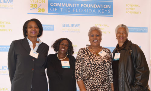 2019 Honoree Mona Clark (second from left) and colleagues from the Dr. Martin Luther King Scholarship Fund